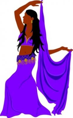 Exotic clipart belly dancer