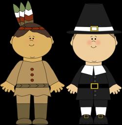 Indians clipart pilgrims