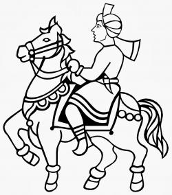 Traditional clipart marriage symbol
