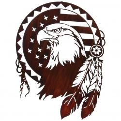 Tribal clipart american eagle