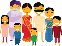 Indians clipart family