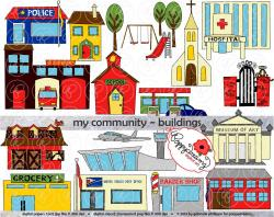 Place clipart community building
