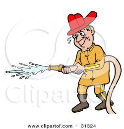 Water clipart fireman
