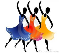 Indian clipart group dance