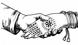 Ceremony clipart wedding logo