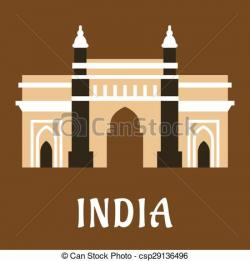 Indian clipart mosque