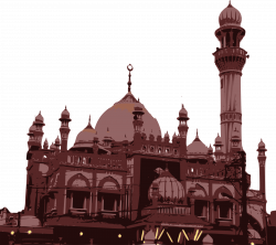 Mosque clipart landmark