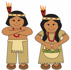 Native American clipart indian tribe