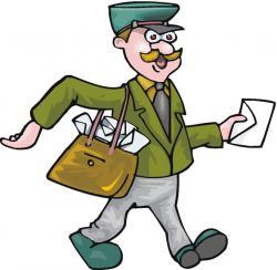Indian clipart postman