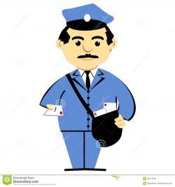 Uniform clipart postman