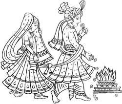 Ceremony clipart chuppah