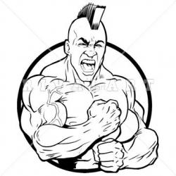 Indian clipart strong