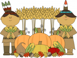 Indian clipart thanksgiving