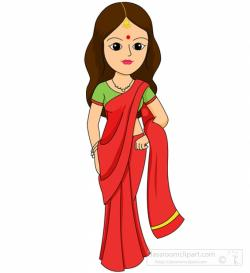 Indian clipart traditional