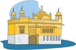 Temple clipart gurdwara