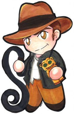 Indiana Jones clipart cartoon
