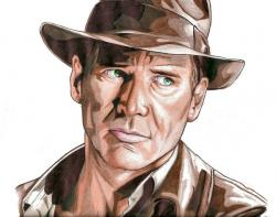 Indiana Jones clipart drawing