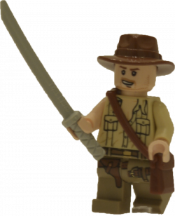 Indiana Jones clipart lego figure
