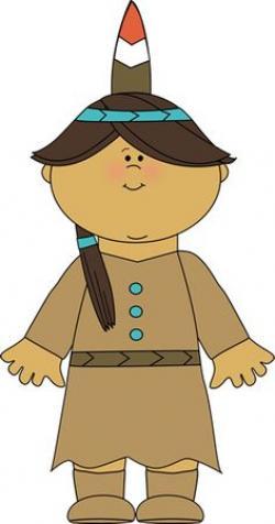 Native American clipart cute
