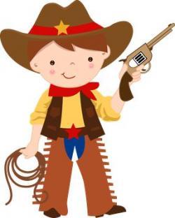 Indians clipart cowboy
