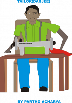 Indians clipart indian tailor