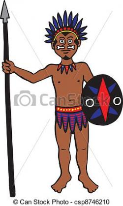 Indians clipart tribal person