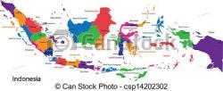 Indonesia clipart Indonesia Map Clipart
