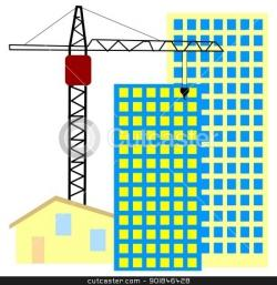 Industrial clipart building construction site