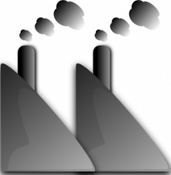 Industrial clipart chimney smoke