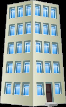 Skyscraper clipart corporate building