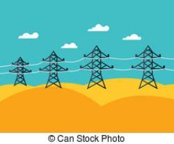 Industrial clipart electric grid