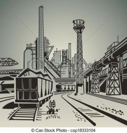 Industrial clipart industrial area