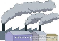Pollution clipart industrial pollution