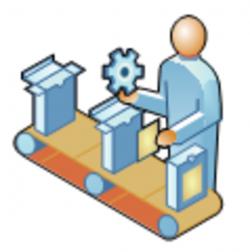 Machine clipart manufacture