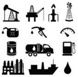 Industrial clipart oil company