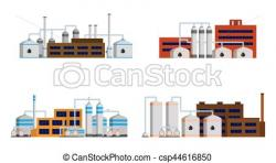 Industrial clipart oil refinery