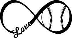 Infinity clipart baseball