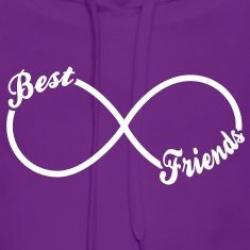 Infinity clipart best friend