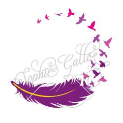 Infinity clipart feather bird