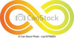 Infinity clipart icon