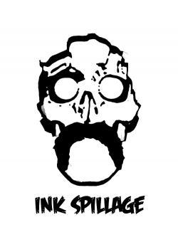 Ink clipart spillage
