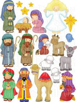 Camels clipart nativity character