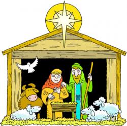 Christmas clipart jesus birth