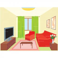 Lounge clipart kid room