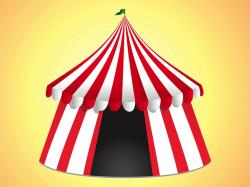 Carneval clipart event tent