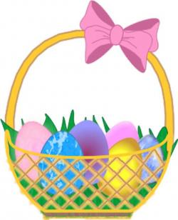 Inside clipart easter egg basket
