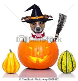 Inside clipart halloween dog