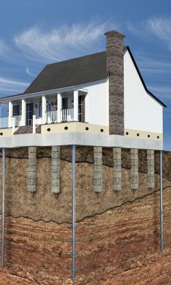 Basement clipart house foundation