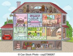 Basement clipart house interior