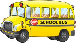 See clipart bus back